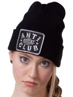 Anti Social Club Beanie by Social Decay