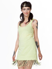 Mojito Fringe Tank Dress by Bobi Los Angeles