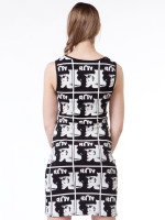Allover Warhol Tank Dress by Boy London