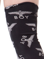 Allover Eagle Thigh High Stirrups by Boy London