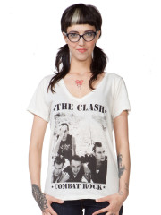 the Clash Combat Rock Oversized Tee by Trunk LTD