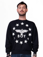 Globe Star Throwback Sweatshirt by Boy London