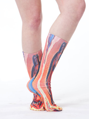 Guadalupe Long Socks by Linear