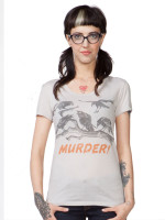 Murder of Crows Tee by Headline Shirts