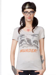 Murder of Crows Tee by Headline Shirts