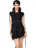 Tied Up Tunic Dress by Killstar