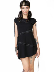 Tied Up Tunic Dress by Killstar
