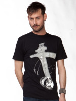 Nick Blinko Crucifarce Tee by Lethal Amounts