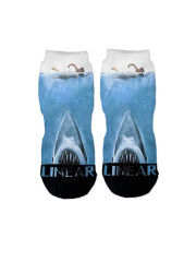 Jaws ankle socks by Linear