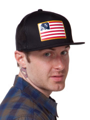 Patriot Trucker Hat by Metal Mulisha