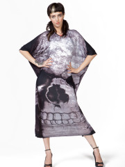 Skull Boho Maxi Dress by Killstar