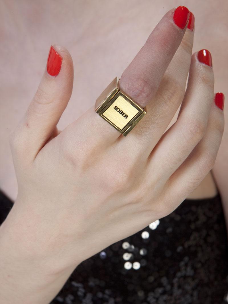 drunk sober ring